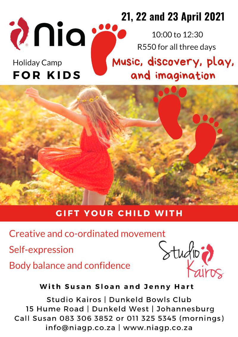 Nia for Kids April 2021